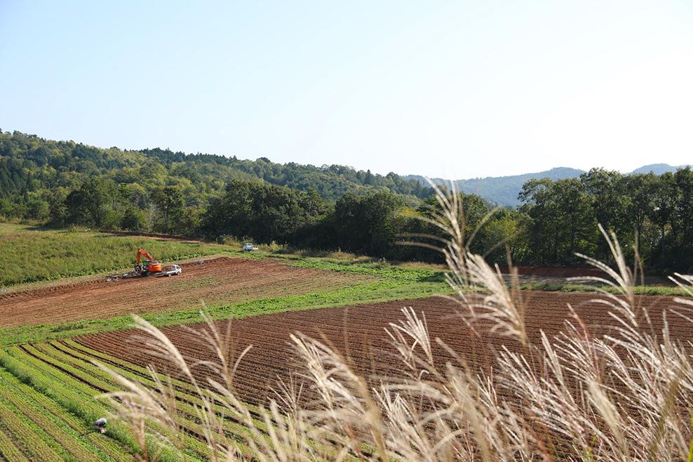 寺岡有機農場世良農場の様子