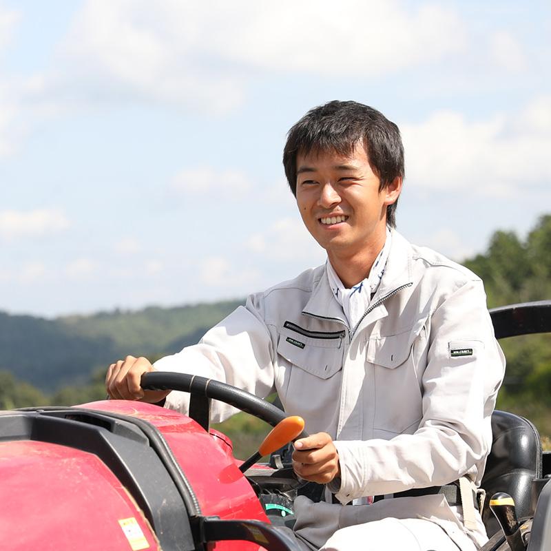 寺岡有機農場のスタッフ
