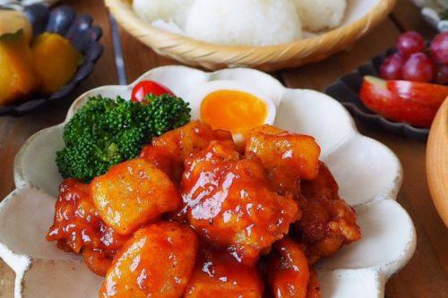 ヤンニョムチキン 鶏肉