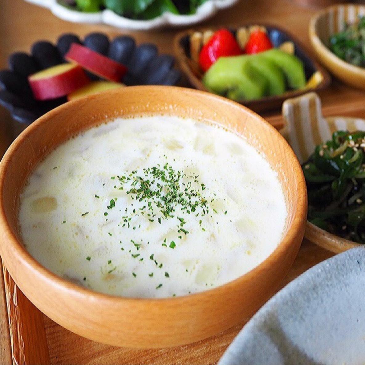 新玉ねぎ ミルクスープ レシピ