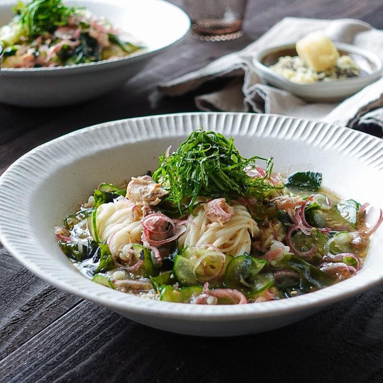 鯖 レシピ 素麺