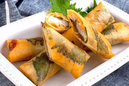 長芋 明太 春巻 レシピ
